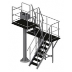Two Stage Stationary Hanging Platform