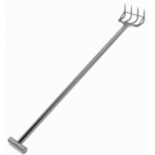 "60"" Stainless Steel Fork - 4 Tines"