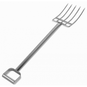 """44"""" Stainless Steel Reinforced Fork"""