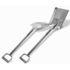 """40"""" Stainless Steel Square Shovel"""