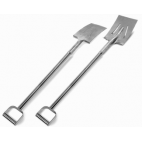 "39"" Stainless Steel Reinforced Square Shovel"