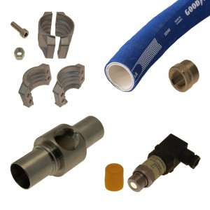 Pressure Hose Complete IR56 Injector No. 210 and Higher