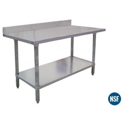 TABLES EL Series with Backsplash
