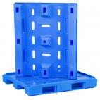 Blue Raised Edge Plastic Pallet