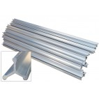 Aluminum Custom Cut Smokehouse Sticks
