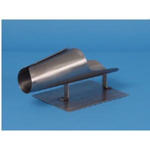 Small Stainless Steel Stuffing Horn