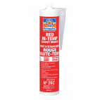Red Hi-Temp Silicone Adhesive Sealant