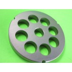 "# 42 x 1"" (25mm) holes Meat Grinder Plate Screen Cabelas Carnivore 1 3/4 HP"