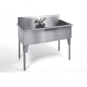 Double Compartment Stainless steel sink
