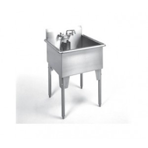 Single Compartment Stainless steel sink