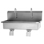 2 Person Wall Mount Sink with Double Knee Valve