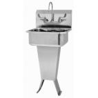 Pedestal Manual Sink