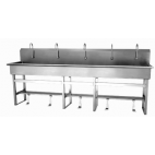 Single Valve 5-Person Sink