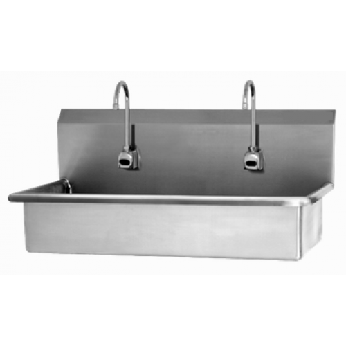 2 Person Wall Mount Sink with Sensor