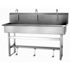 Single Valve 3-Person Sink