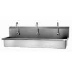Sensor Sink Wall Mount - 3 Person
