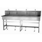Single Valve 4-Person Sink