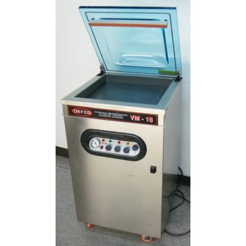Used Orved VM 18 220V 3Ph Single Chamber Vacuum Packaging Machine
