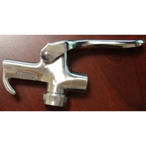 Presto FF-100 USDA Accepted Stainless Steel Lever Type Injection Valves