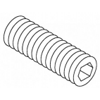 Carriage Set Screw, Nylon