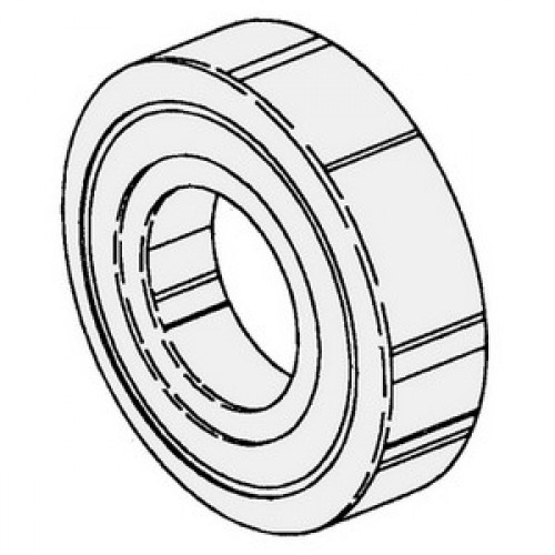 UPPER SHAFT BEARING, REAR 680-2034