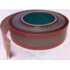 "Seal Bar Tape 1-1/2"" wide x 18 yards (54')  3/8"" adhesive on each edge leaving 3/4"" clear center"