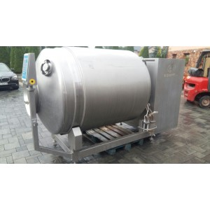 Used Tumbler Nowicki 2000 ltr with Cooling Year 2004