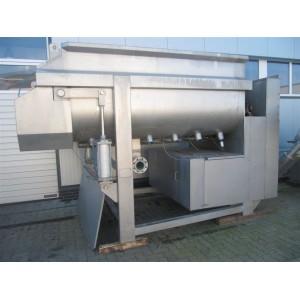 Used Boldt twin-shaft ribbonmixer BM6000S52R