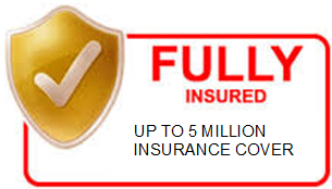 Fully Insured Cover 5 Million company