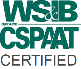 Covered under WSIB and CSPAAT Certified